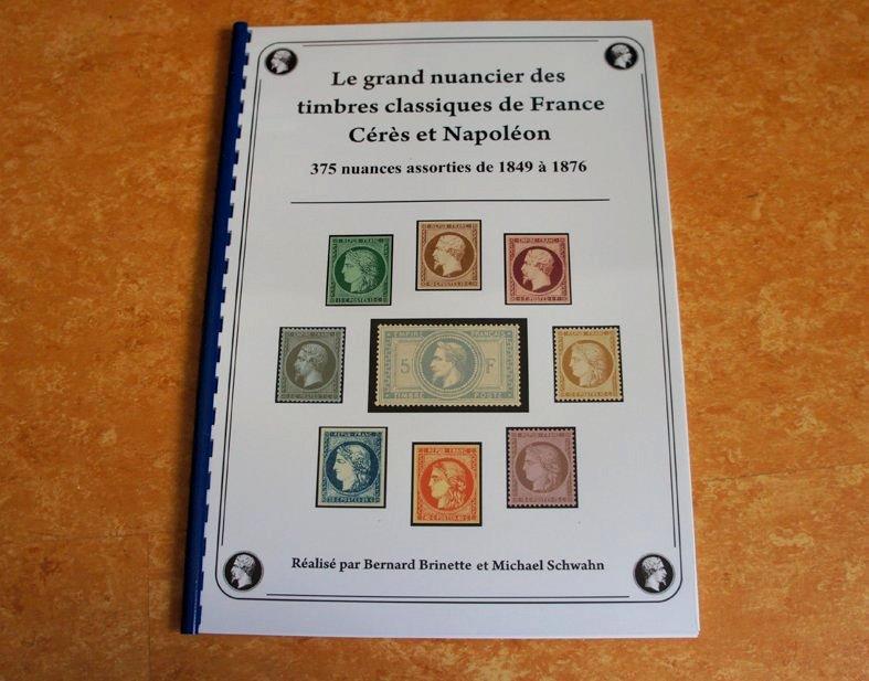Le grand nuancier des timbres classiques de France